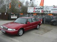 1998 ROVER 825 SI 2.5L AUTOMATIC ONLY 72,914 MILES, 1 FAMILY OWNED