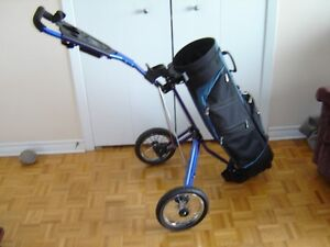 cart de golf et sac inclus