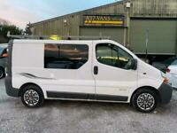 2003 Renault Trafic SL27DCI 100 SWB P/V SWB NO VAT TO PAY 2 BERTH CAMPER PRICE R