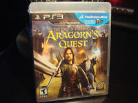 PS3-THE LORD OF THE RINGS-ARAGORN'S QUEST (NEUF/NEW SEALED)