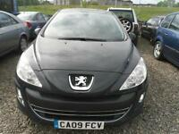 2009 PEUGEOT 308 1.6 HDi 110 SR 5dr FULL YEARS MOT FOR GBP1950