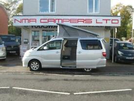 2020 ALPHARD AXL EDITION Camper CAMPERVAN CONVERSION 2.4 petrol auto Camper conv