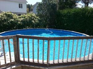 piscine 24 pieds rue de Bourbon Sorel-Tracy