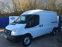 2013 63 Ford Transit 2.2TDCi (125PS) ( EU5 ) ( RWD ) 350M Med Roof Van MWB Van