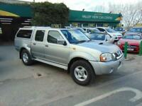 Nissan Navara 2.5Di 2005 DOUBLE CAB PICKUP WITH REMOVEABLE BACK 4X4 DIESEL