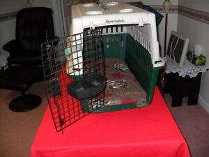 Dog kennel for mid size dog.