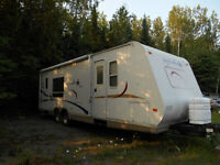 Jayco Featherlite 26 foot camper trailer with A/C