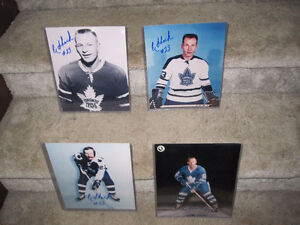 "Eddie Shack-Toronto Maple Leafs 8"" X 10"" Signed Photos"
