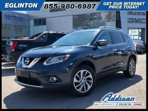 2015 Nissan Rogue SLGPS leather roof