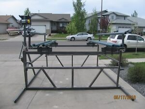 """""""BRAND NEW"""" CANTILEVER PONTOON BOAT LIFTS Prince George British Columbia image 2"""
