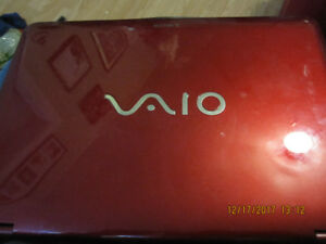 Sony Vaio for parts or repair