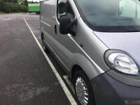 Vauxhall Vivaro silver 05 1.9cdti, NO VAT 103,000 miles only