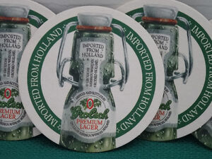 Grolsch bottles and coasters Cornwall Ontario image 2