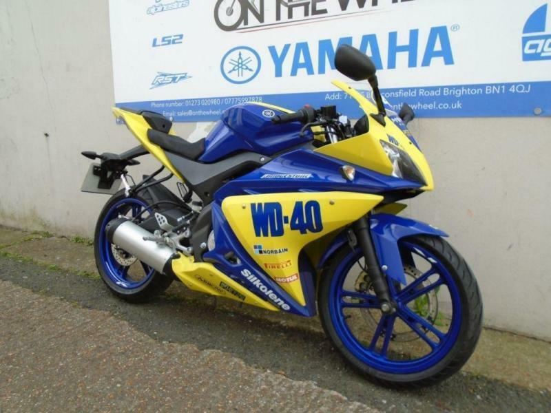2015 YAMAHA YZF-R125 WD-40 GRAPHICS **HPI CLEAR** ** LOW MILES **