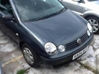 Volkswagen Polo 1.2 ( 65bhp ) 2004MY E NEW MOT,DRIVES VERY WELL