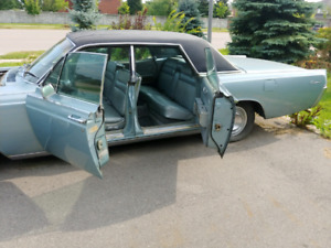 1966 Lincoln Continental with suicide doors