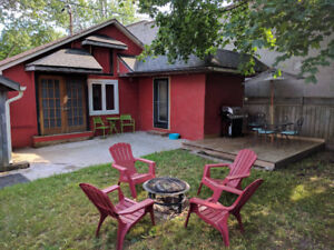30 steps from crystal beach, weekly cottage rental available