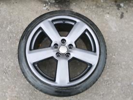 "18"" Rs6 alloy wheels"