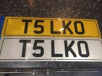 T5 number plate vw