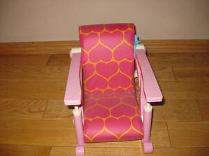 Our Generation/ American girl doll highchair Strathcona County Edmonton Area image 1