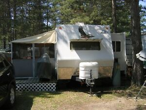 2006 Jayco Eagle 32' Camper at Red Pine Lodge, Ivahoe Lake