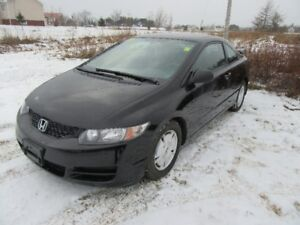 2010 Honda Civic DX Coupe  SUMER  AND WINTER  TIRES