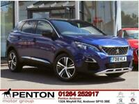 2018 Peugeot 3008 1.6 THP GT Line EAT (s/s) 5dr SUV Petrol Automatic