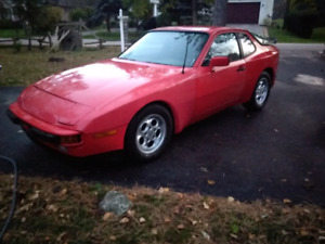 Two 944 Porsche's for sale