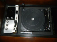 Vintage Cabinet Record Player