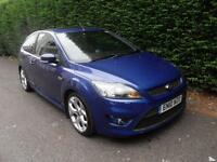 Ford Focus 2.5 ST-2 225 SIV 2010. ST2, Met Blue, Sunroof.