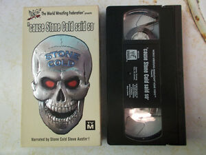 Wrestling VHS For Sale, All $1 Each!! WWE, WWF, WCW, ECW London Ontario image 4