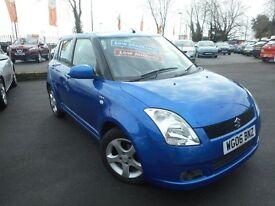 Suzuki Swift GLX VVTS (blue) 2006