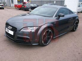 2014 Audi TT Black Edition TFSi 2.0 DAMAGED REPAIRABLE SALVAGE