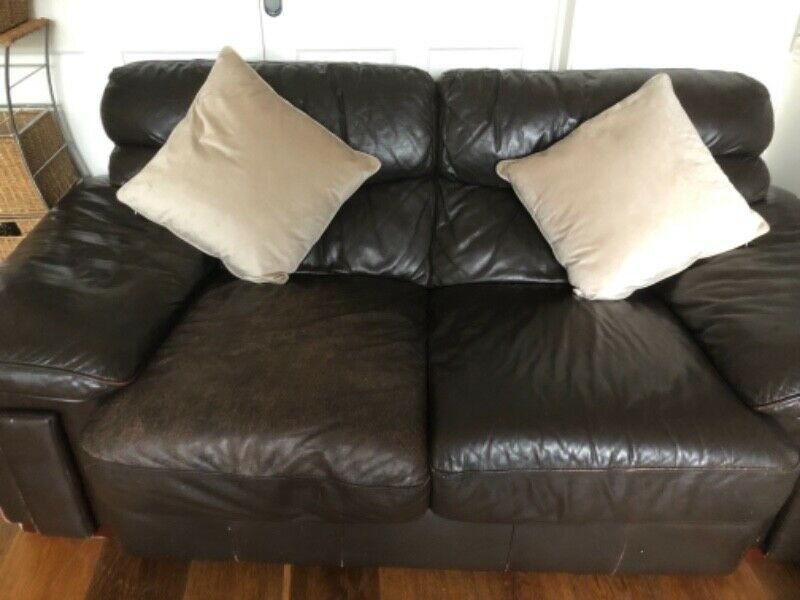 Free 2seater leather couch