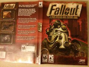 Fallout - A post nuclear role playing game Video game for PC $10