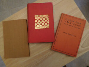 For The Chess Lover/Book Collector
