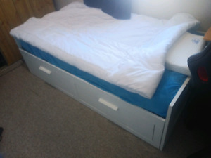 IKEA BRIMNES daybed+ Matresses. Almost New.