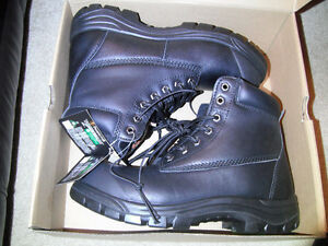 NEW Prospector men's Steel Toe Boots (black) *size 8, 9, or 13