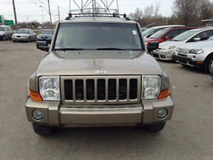 2006 Jeep Commander SUV, Crossover safety an E.tested for $5345