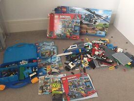 Mixed LEGO selection