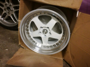 "18"" Rotiform 5 Spoke Style Deep Dish Staggered 5x120 Wheels"