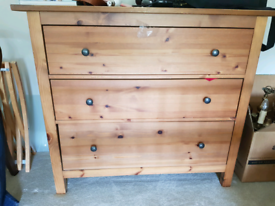 Chest of Drawers. IKEA Hemnes 3 drawers