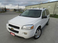 2009 Chevrolet Uplander, Auto, Low km, up to 3 years warranty.