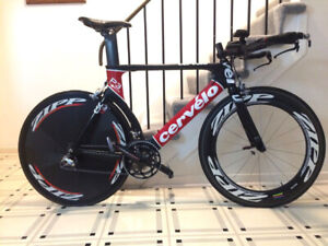 Cervelo P3 Carbo Full Dura-Ace TT - AS NEW - Price Reduced