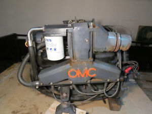Marine remote oil filter for OMC. Exhaust manifold mount.