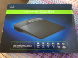 Linksys E1200 Wireless-N Router by Cisco