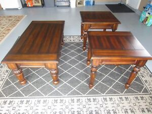 Wooden Coffee Table and two End Tables St. John's Newfoundland image 1