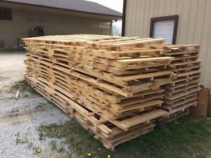 Various pallet sizes