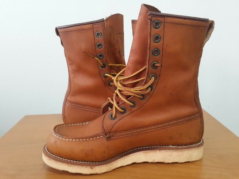 Red Wing Heritage Boots 877 USA_8 Inch [10 eyelets]