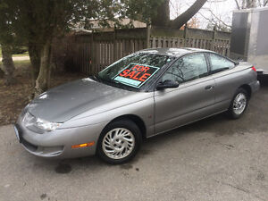 1999 Saturn SC1   Certified & e-tested